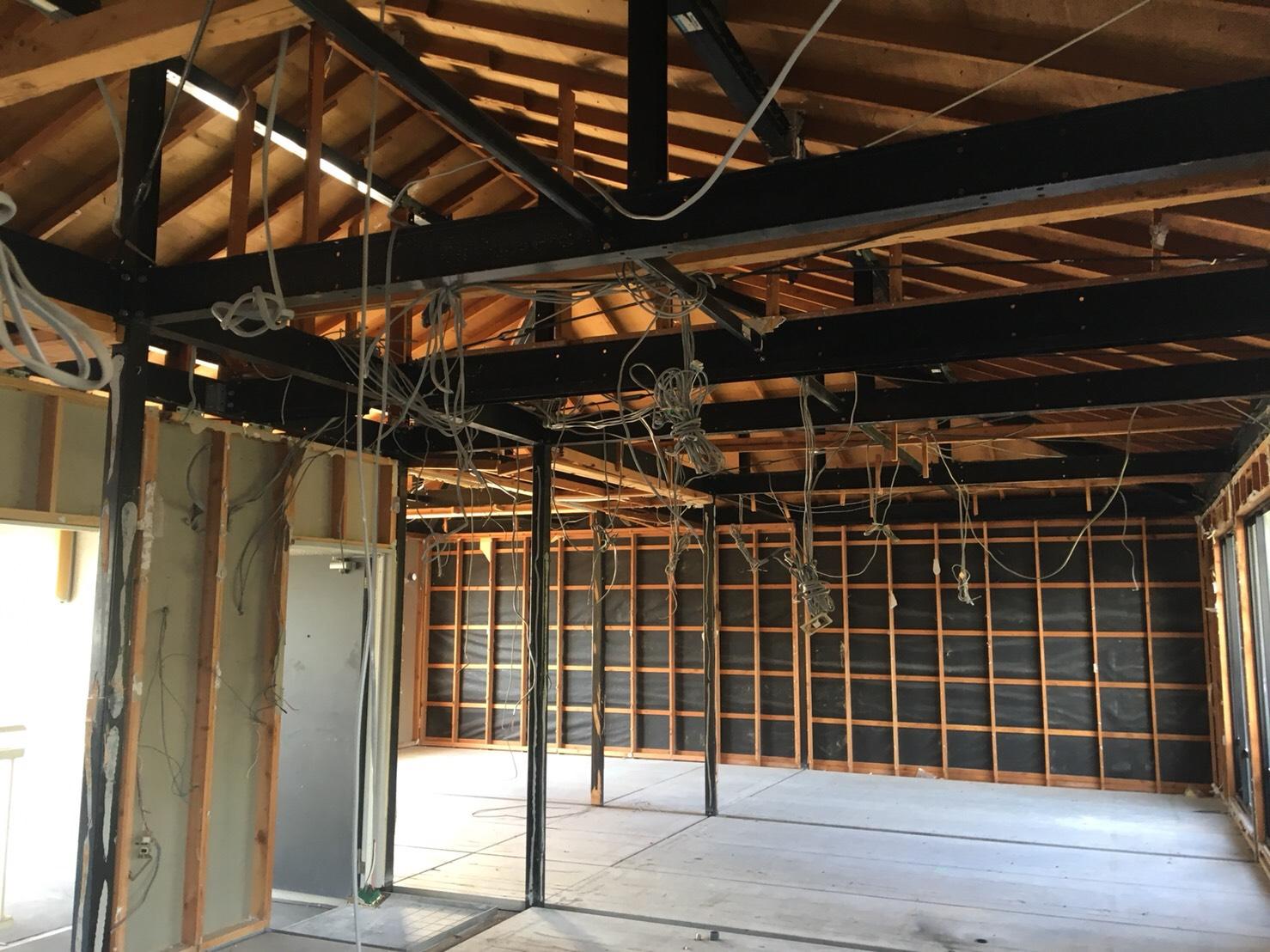 アパート内装解体工事施工完了