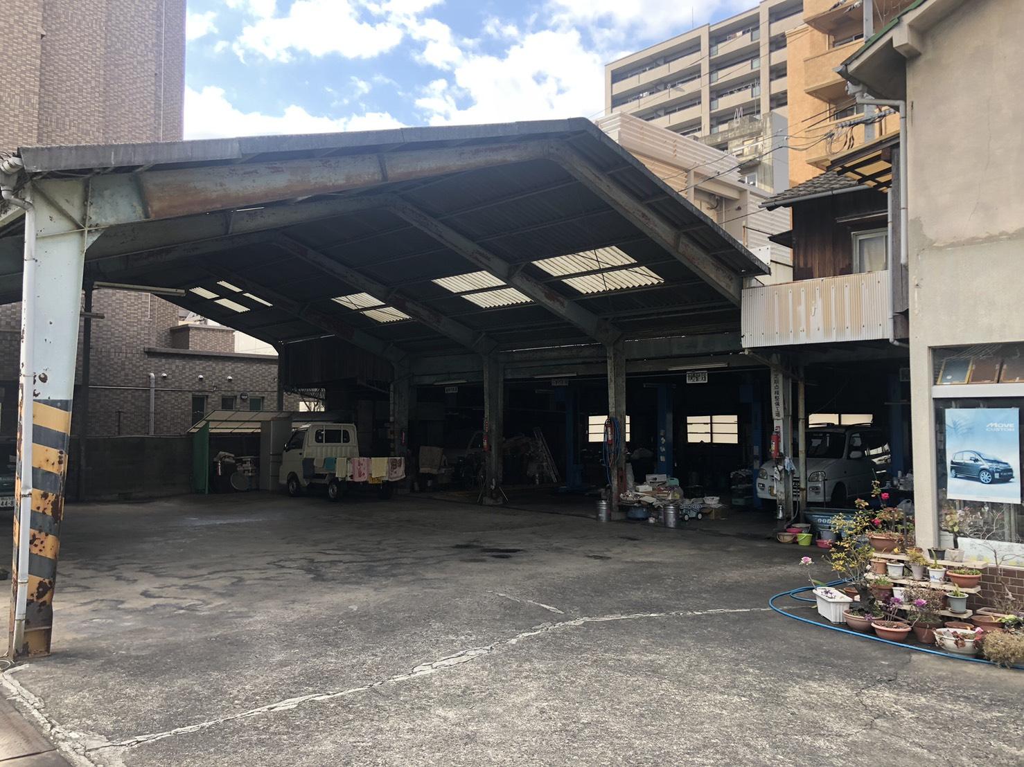 工場解体工事着工前